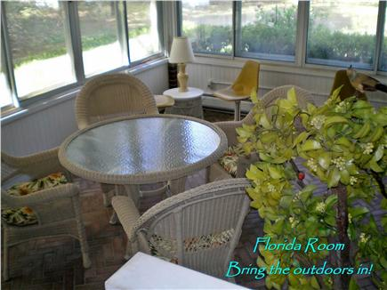 West Harwich Cape Cod vacation rental - Informal Florida Room
