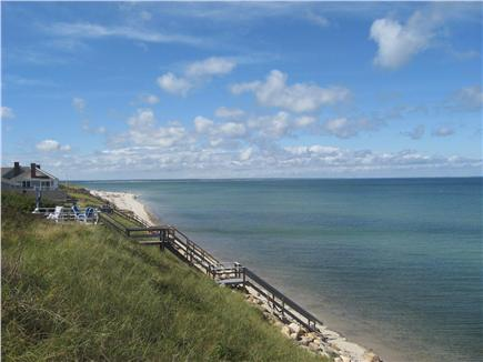 Dennis Cape Cod vacation rental - View of Cape Cod Bay and Steps to Private Beach