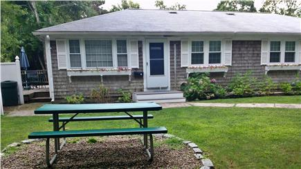 So. Yarmouth Cape Cod vacation rental - Yarmouth vacation rental ID 25203 / OAK BLUFFS ROAD enterance