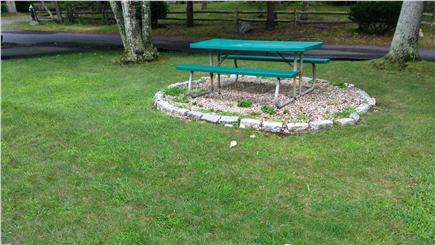 So. Yarmouth Cape Cod vacation rental - Front lawn  with Table
