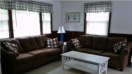 So. Yarmouth Cape Cod vacation rental - Living room (pull out couch)