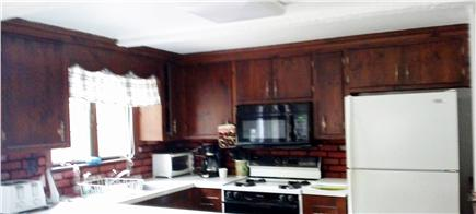 So. Yarmouth Cape Cod vacation rental - Kitchen with microwave, coffee maker and Keurig