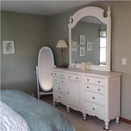 Falmouth Cape Cod vacation rental - Another view of queen bedroom with cottage style furniture