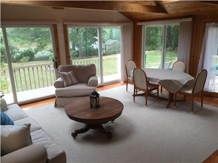 Falmouth Cape Cod vacation rental - Another view of spacious sunroom