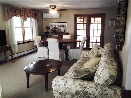 Falmouth Cape Cod vacation rental - Living & dining area