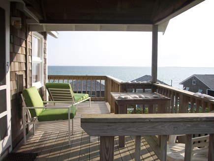 North Truro Cape Cod vacation rental - Side porch - part of wrap around porch (front porch to the left)
