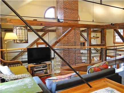 East Orleans Cape Cod vacation rental - Second floor TV area, overlooking Living room