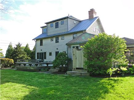 East Orleans Cape Cod vacation rental - Deck and gardens in the back
