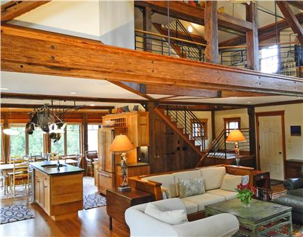 East Orleans Cape Cod vacation rental - Spacious, vaulted, open floor plan