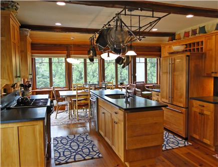 East Orleans Cape Cod vacation rental - Modern kitchen opens to dining area