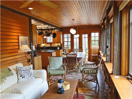 East Orleans Cape Cod vacation rental - Additional seating area, bright sunroom