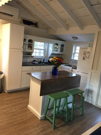 Dennisport Cape Cod vacation rental - Well stocked kitchen- seating at the island