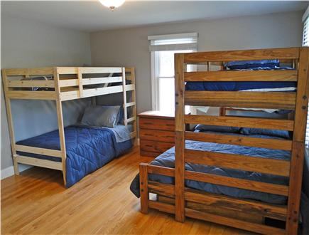Mashpee, Popponesset Cape Cod vacation rental - Bunk bed room, sleeps 4-5