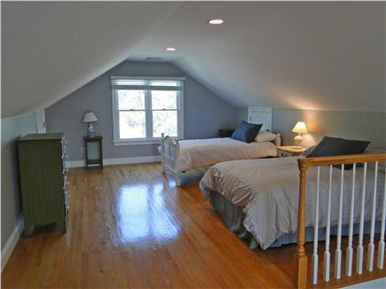 Mashpee, Popponesset Cape Cod vacation rental - Upstairs bedroom with 4 twins