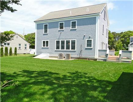 Mashpee, Popponesset Cape Cod vacation rental - Large back yard, great for games and relaxing