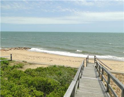 Mashpee, Popponesset Cape Cod vacation rental - Walk 2 minutes to private section of Popponesset Beach