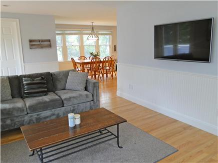 Mashpee, Popponesset Cape Cod vacation rental - Family rooom with new flatscreen TV
