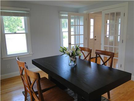 Mashpee, Popponesset Cape Cod vacation rental - For special meals, more formal dining room
