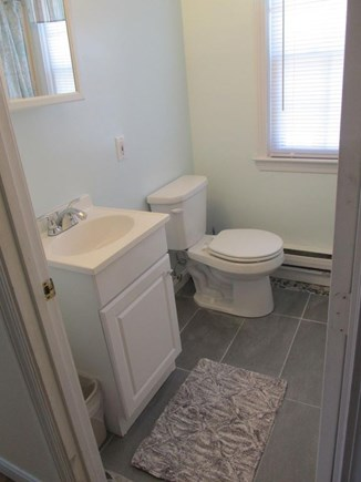 Dennisport Cape Cod vacation rental - Smaller house bathroom, shower no tub 1SR FLOOR