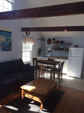 Dennisport Cape Cod vacation rental - Smaller house living room/kitchen
