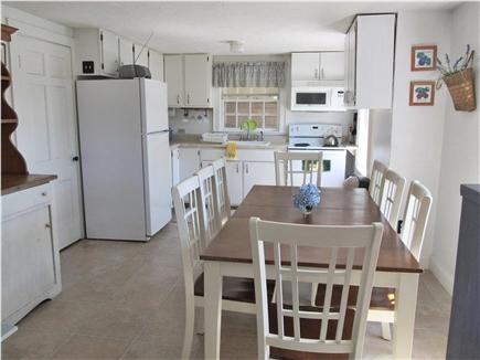 Dennisport Cape Cod vacation rental - Dining area and kitchen, larger house