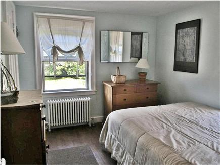Dennisport Cape Cod vacation rental - Bedroom, 1st floor larger house queen size bed, TV and A/C