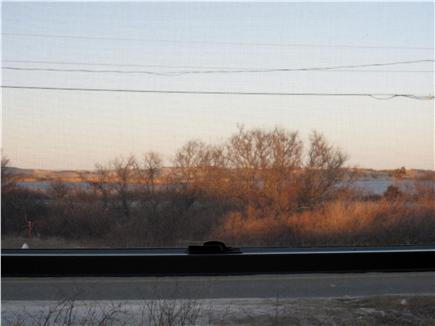 North Truro - Beach Point Cape Cod vacation rental - View of Pilgrim Lake from the master bedroom window