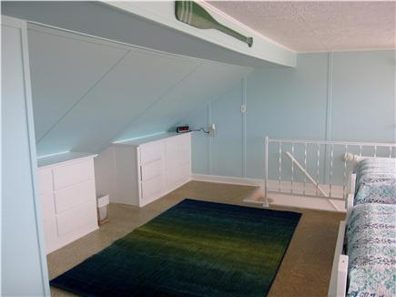 North Truro - Beach Point Cape Cod vacation rental - Two large built-in dressers in the loft bedroom