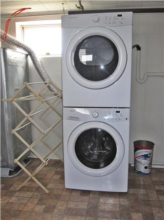 North Truro - Beach Point Cape Cod vacation rental - Full size washer/dryer conveniently located on the lower level
