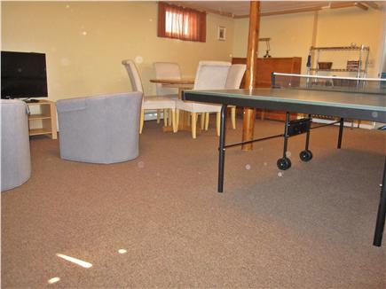 North Truro - Beach Point Cape Cod vacation rental - Rec room has ping pong, TV/Blu-Ray, games - even a piano!
