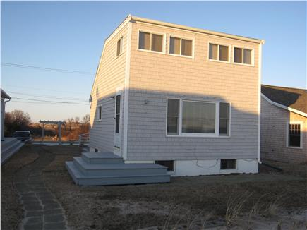 North Truro - Beach Point Cape Cod vacation rental - View of the house in the late afternoon light