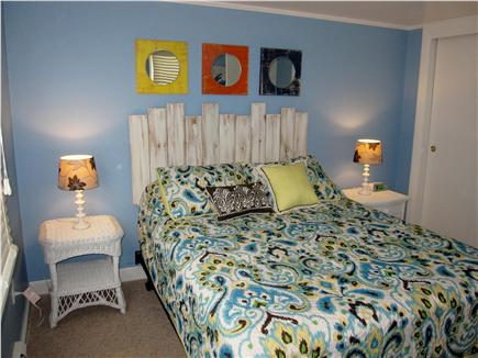 North Truro - Beach Point Cape Cod vacation rental - Master bedroom - queen bed with new plush mattress & box spring