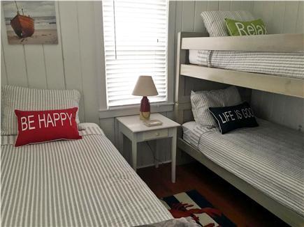 Centerville, craigville village Centerville vacation rental - 3rd bedroom twin w bunks wood floors