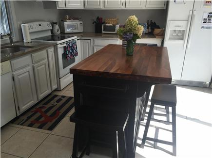 Centerville, craigville Centerville vacation rental - Newly painted cabinets w granite counters & new island w sliders