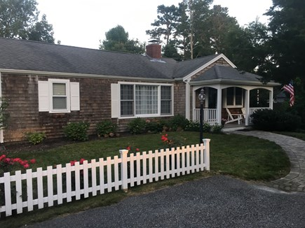 Centerville, craigville village Centerville vacation rental - Front porch w/Adirondack chairs for enjoying morning coffee