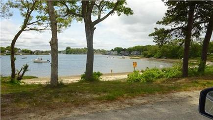 Onset MA vacation rental - View from front yard ..beach just a stone's throw away