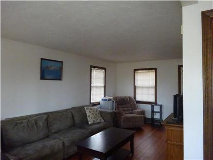 Onset MA vacation rental - Large sitting area in living room to accommodate 8