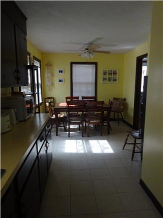 Onset MA vacation rental - Good space in the kitchen when you're dining in