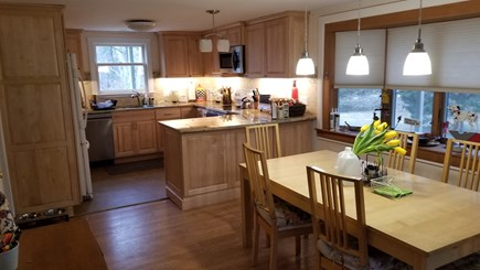 North Eastham Cape Cod vacation rental - Dining Area seats six (6)