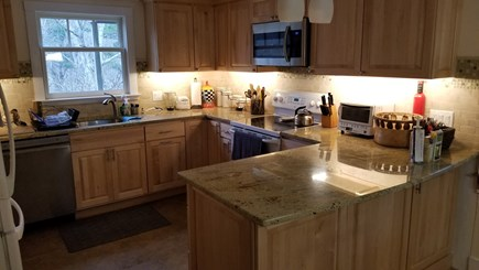 North Eastham Cape Cod vacation rental - Newly renovated Kitchen, granite countertops & new appliances