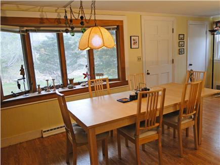 North Eastham Cape Cod vacation rental - Large bay window in dining area, opens to living room
