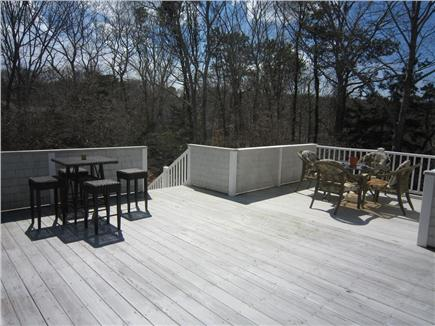 Dennis Cape Cod vacation rental - Brand new outdoor deck with gas grill and plenty of seating
