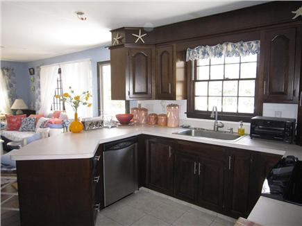 Dennis Cape Cod vacation rental - Kitchen area facing living area