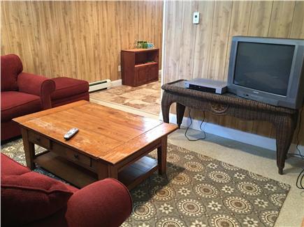 Dennisport Cape Cod vacation rental - Downstairs living area