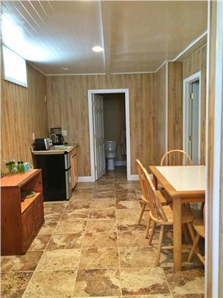 Dennisport Cape Cod vacation rental - Downstairs kitchetnette area