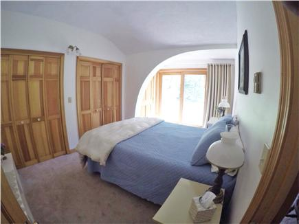 Brewster Cape Cod vacation rental - Queen bedroom has a slider making for a private entrance