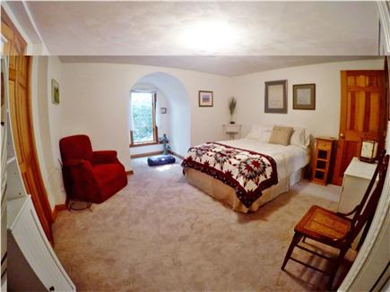 Brewster Cape Cod vacation rental - Double bedroom with meditation nook and private bath