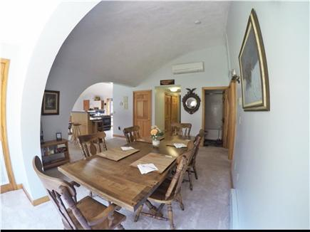 Brewster Cape Cod vacation rental - Dining area comfortably seats 8