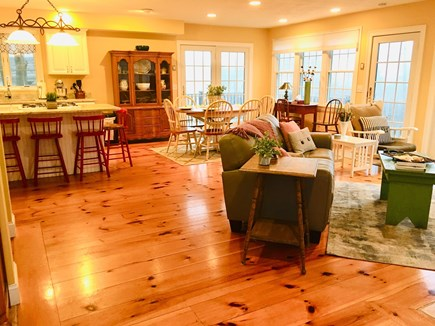 Hyannis Park/West Yarmouth Cape Cod vacation rental - Relax together in the open living room and kitchen
