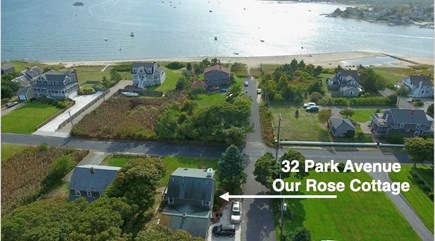 Hyannis Park/West Yarmouth Cape Cod vacation rental - It is a quick walk from our home to the lovely Lewis Bay Beach.